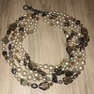Stella & Dot Pearl Necklace